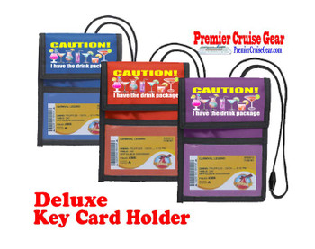 Cruise Card Holder Deluxe - Choice of color - 053