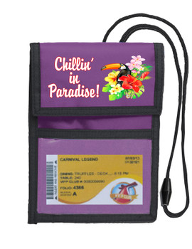 Cruise Card Holder Deluxe - Choice of color - 054