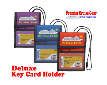 Cruise Card Holder Deluxe - Choice of color - 055
