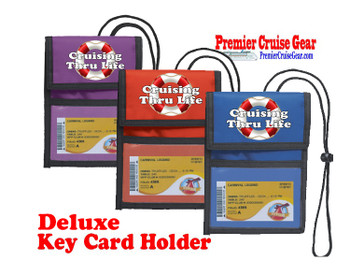 Cruise Card Holder Deluxe - Choice of color - 056