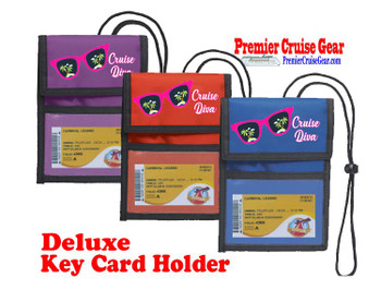 Cruise Card Holder Deluxe - Choice of color - 057