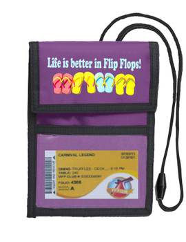 Cruise Card Holder Deluxe - Choice of color - 058