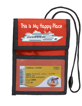 Cruise Card Holder Deluxe - Choice of color - 059