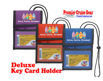 Cruise Card Holder Deluxe - Choice of color - 061