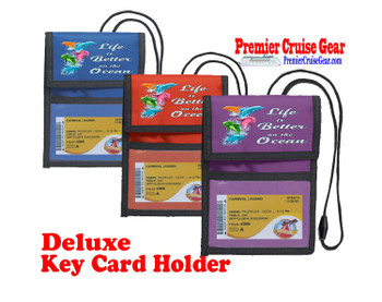 Cruise Card Holder Deluxe - Choice of color - 062