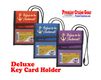 Cruise Card Holder Deluxe - Choice of color - 063