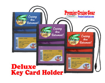Cruise Card Holder Deluxe - Choice of color - 064