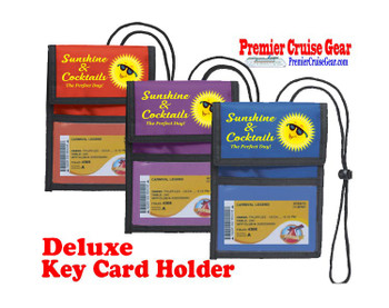 Cruise Card Holder Deluxe - Choice of color - 065