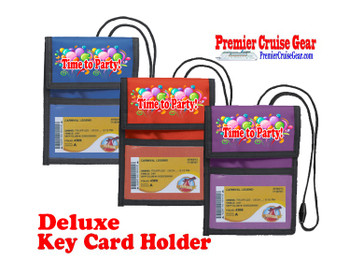 Cruise Card Holder Deluxe - Choice of color - 066