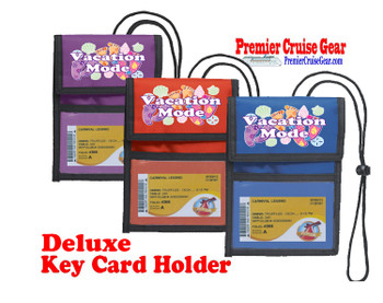 Cruise Card Holder Deluxe - Choice of color - 067