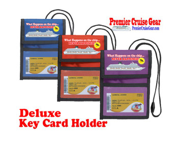 Cruise Card Holder Deluxe - Choice of color - 068