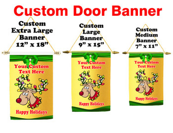 Cruise Ship Door Banner -  available in 3 sizes.      Holiday 2