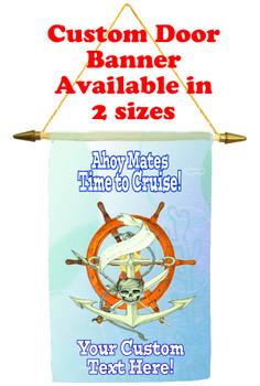 Cruise Ship Door Banner - Ahoy Mates 1