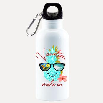 Cruise themed Water - Beverage Bottle.  20 Oz Aluminum Bottle with optional back design.  Design 0020