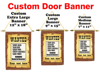 Cruise Ship Door Banner -  available in 3 sizes.     Wanted