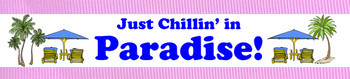 """Towel Anchor - """"Chillin in Paradise"""""""