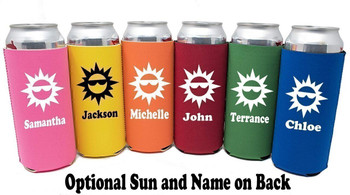 Cruise themed Tall Can sleeve.  Choice of color and custom option available.  Design 52