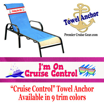 "Towel Anchor - ""Cruise Control"""