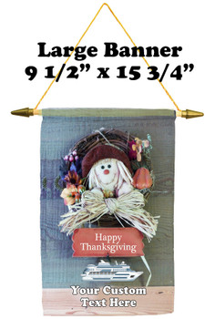 Cruise Ship Door Banner -  available in 3 sizes.      Thanksgiving 1