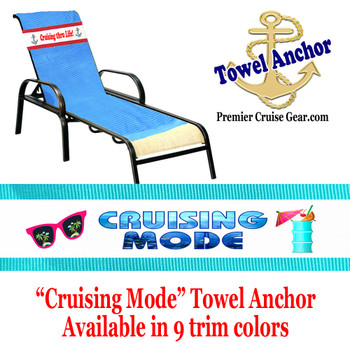 "Towel Anchor - ""Cruising Mode"""