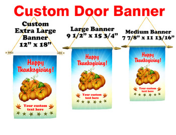 Cruise Ship Door Banner -  available in 3 sizes.      Thanksgiving 3