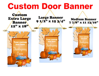 Cruise Ship Door Banner -  available in 3 sizes.      Thanksgiving 5