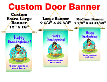 Cruise Ship Door Banner -  available in 3 sizes.      Thanksgiving 6