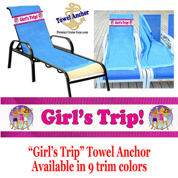 "Towel Anchor - ""Girl's Trip"""