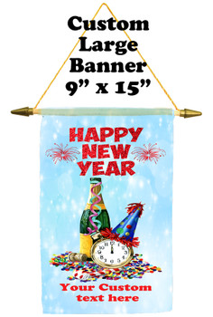 Cruise Ship Door Banner -  available in 3 sizes.      New Year 002
