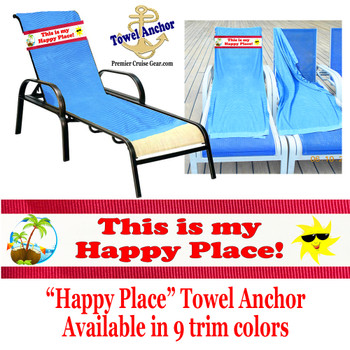 """Towel Anchor - """"Happy Place"""""""