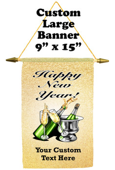 Cruise Ship Door Banner -  available in 3 sizes.      New Year 003