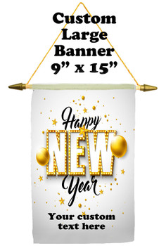 Cruise Ship Door Banner -  available in 3 sizes.      New Year 005