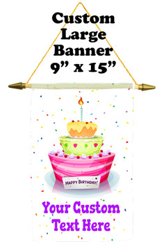 Cruise Ship Door Banner -  available in 3 sizes.      birthday 001