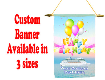 Cruise Ship Door Banner -  available in 3 sizes.      birthday 5