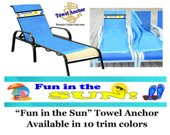 "Towel Anchor - ""Fun in the Sun"""