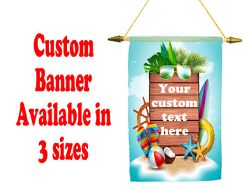 Cruise Ship Door Banner -  available in 3 sizes.    Custom with your text! Sign Post 10