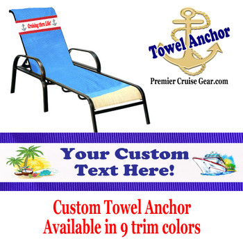 Custom Towel Anchor - (Design 001)