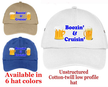 Cruise Theme Hat (002) - Keep safe from the sun while showing off your cruising spirt!