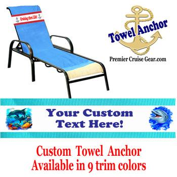 Custom Towel Anchor - (Design 002)