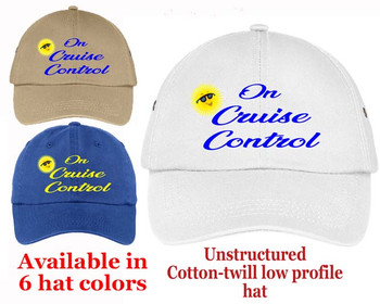 Cruise Theme Hat (005) - Keep safe from the sun while showing off your cruising spirt!