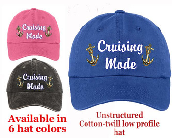 Cruise Theme Hat (007) - Keep safe from the sun while showing off your cruising spirt!