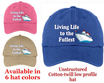 Cruise Theme Hat (009) - Keep safe from the sun while showing off your cruising spirt!