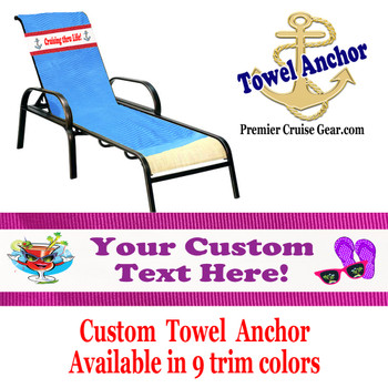 Custom Towel Anchor - (Design 003)