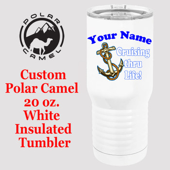 Custom Tumbler - 20 oz.  Design 001