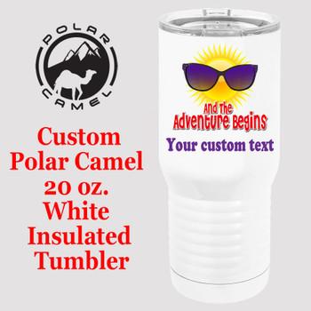 Custom Tumbler - 20 oz.  Design 002