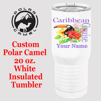 Custom Tumbler - 20 oz.  Design 004
