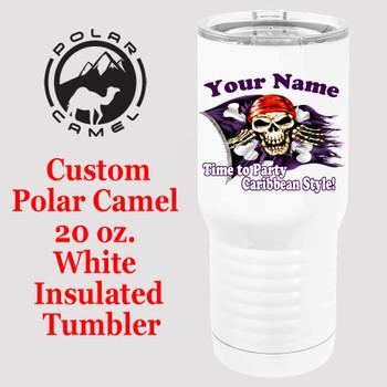 Custom Tumbler - 20 oz.  Design 005