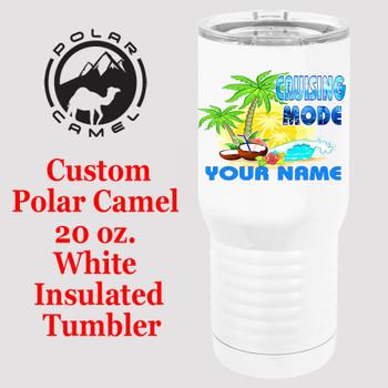 Custom Tumbler - 20 oz.  Design 006