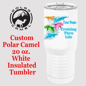 Custom Tumbler - 20 oz.  Design 008