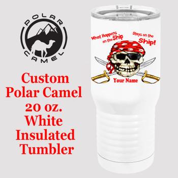 Custom Tumbler - 20 oz.  Design 011